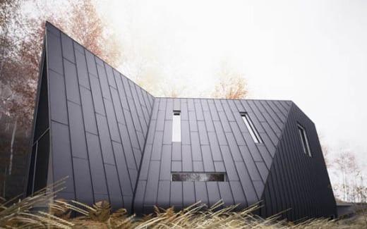 fachada casa de diseño arquitectura