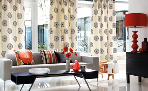 cortinas comedor  decoracion interiores textil
