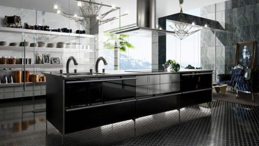 cocina de lujo diseño moderno