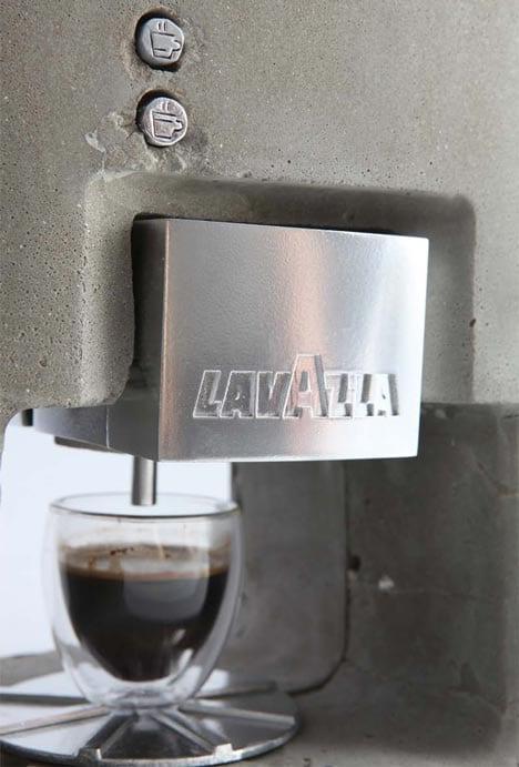 cafetera de diseño espresso solo shmuel linski