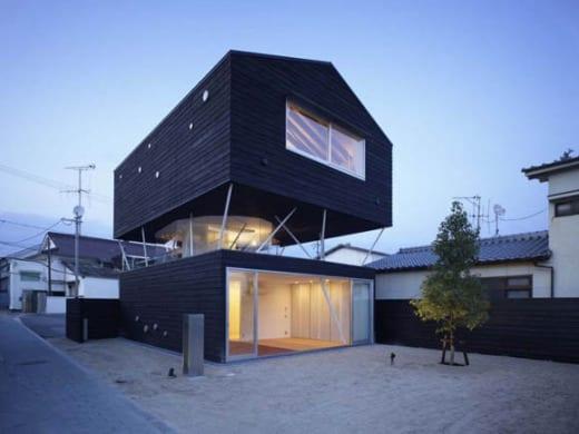 naf 1 Casa de Cedro Negro, tradición y vanguardia japonesa