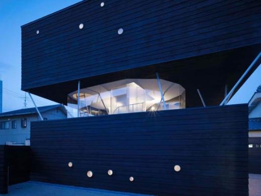 naf 14 Casa de Cedro Negro, tradición y vanguardia japonesa