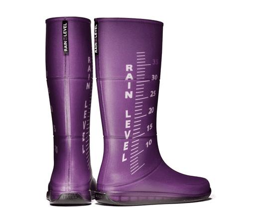 botas de colores lluvia diseño