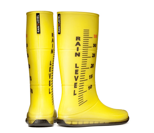 botas de lluvia moda de diseño