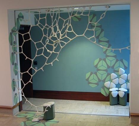 mobiliario de diseño decoracion telaraña