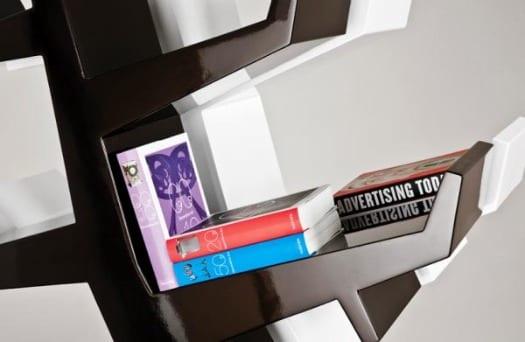 libreria de diseño contemporaneo