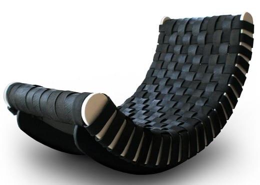 mecedora tumbona diseño minimalista
