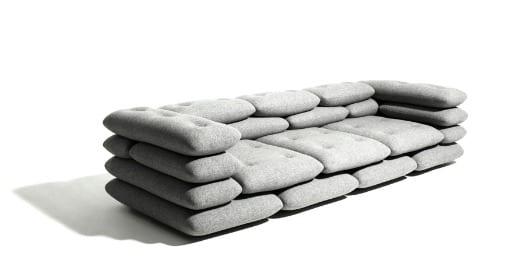 sofá de diseño moderno kibisi