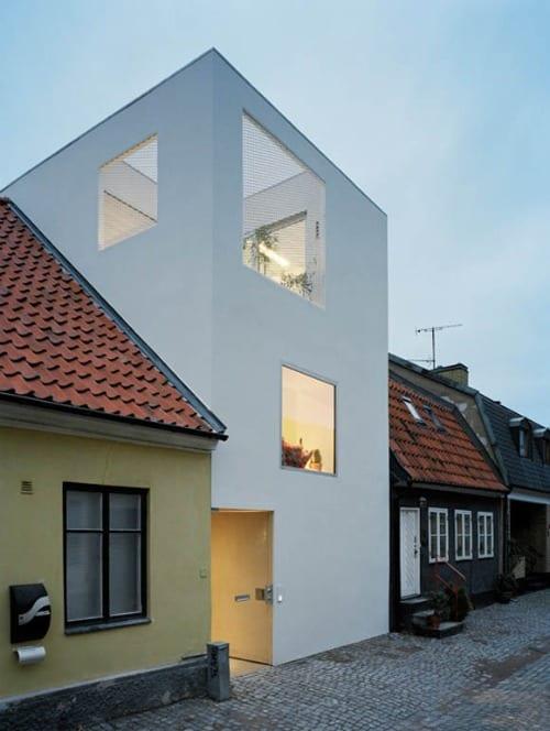 landskrona casa blanca arquitectura