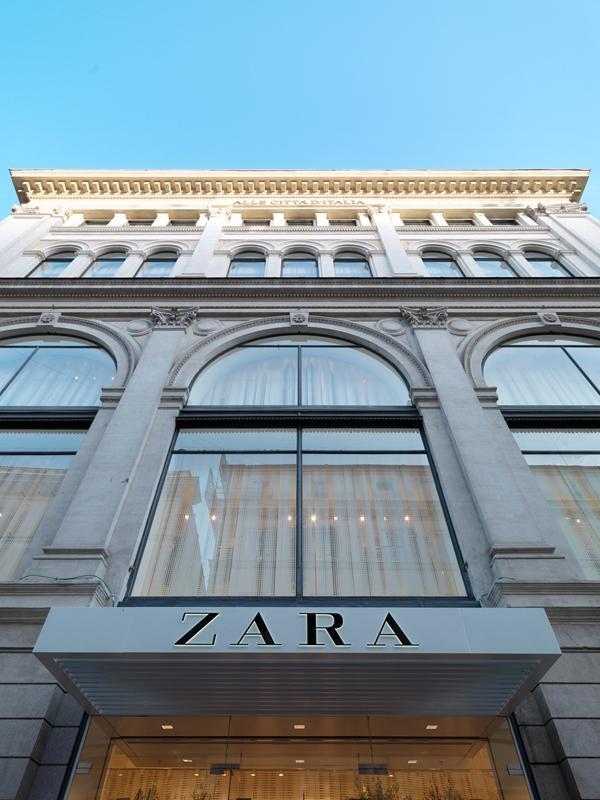 Zara nueva tienda ecoeficiente en roma for Bershka via del corso