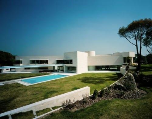 acero arquitectos casa pozuelo madrid fachada