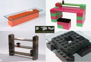 LunaBlocks - Muebles de Lego