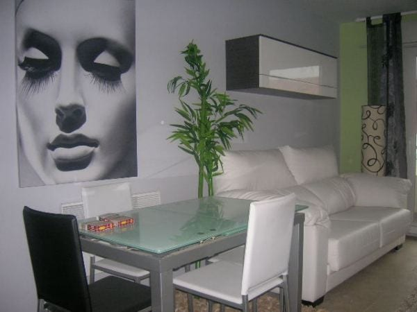 Decorar con cuadros - Pinturas de salon ...
