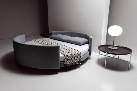 cama redonda sofa moderno scoop