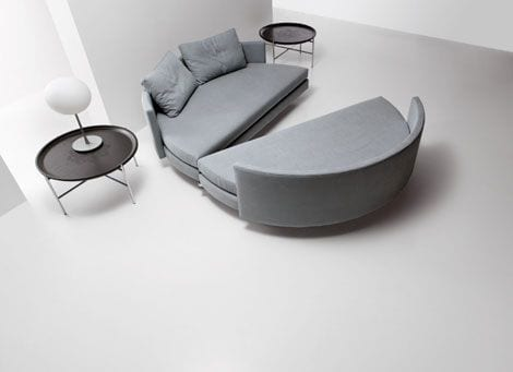 sofa cama moderno contemporaneo diseño italiano