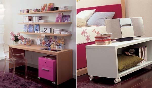 Habitaciones infantiles dearkids muebles que optimizan el - Muebles para chicos ...