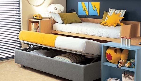 Muebles funcionales para los peques
