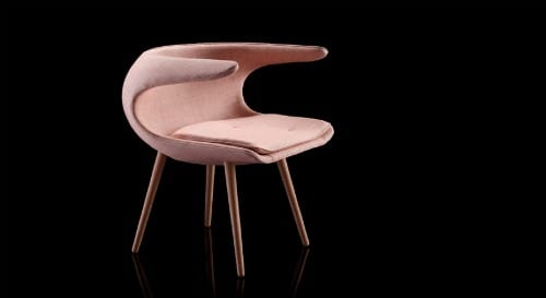 silla retro frost chair