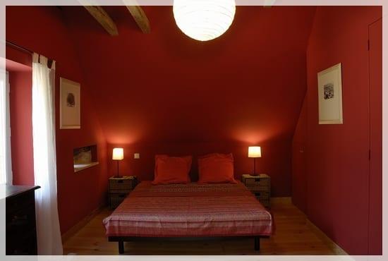 Decorar las habitaciones en color rojo - Habitaciones de color rojo ...