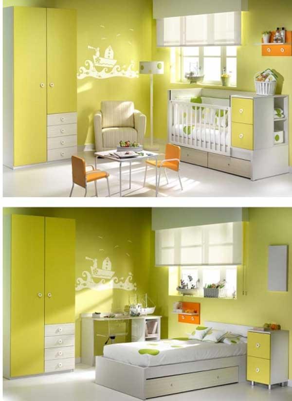 Habitaciones para beb s ambardi - Habitaciones bebe modernas ...