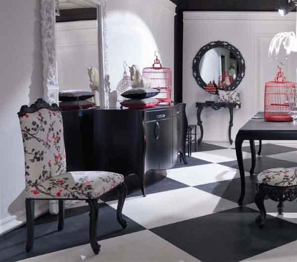 Modá muebles neobarrocos