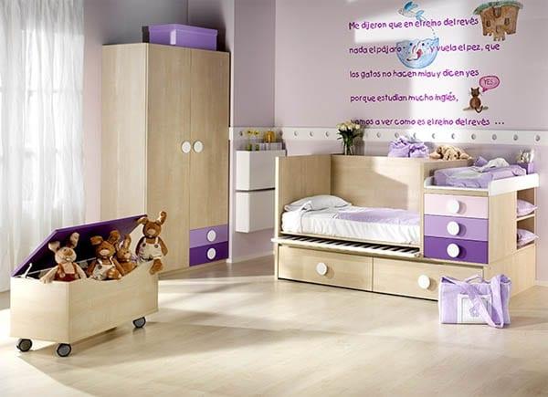 Habitaciones para beb s ambardi for Dormitorio nina barato