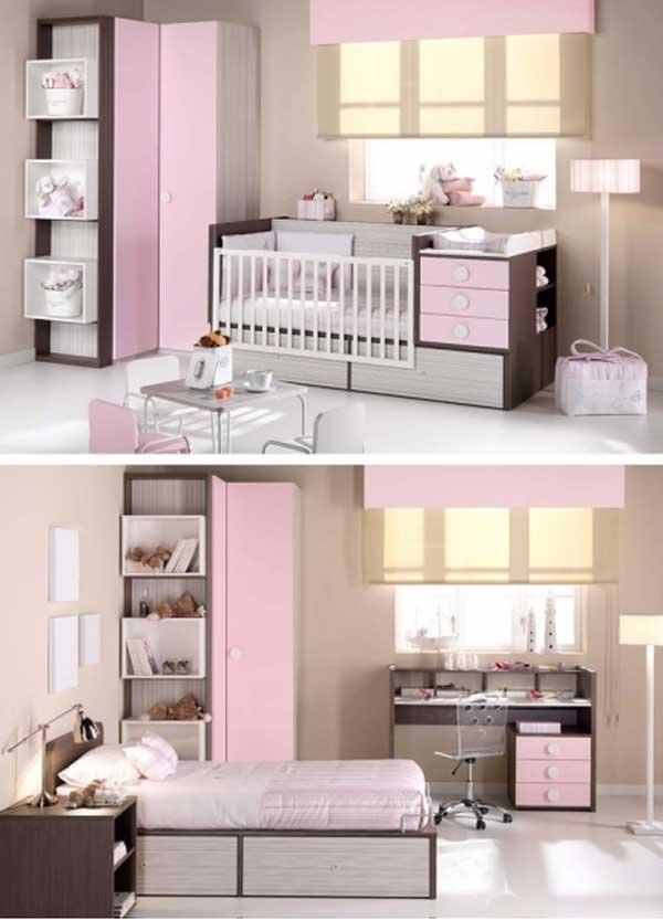 Habitaciones para bebés Ambardi