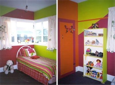 colores de contraste en paredes
