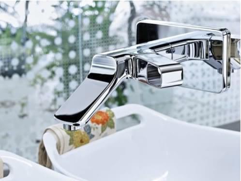 diseños llamativos y modernos grifos baño