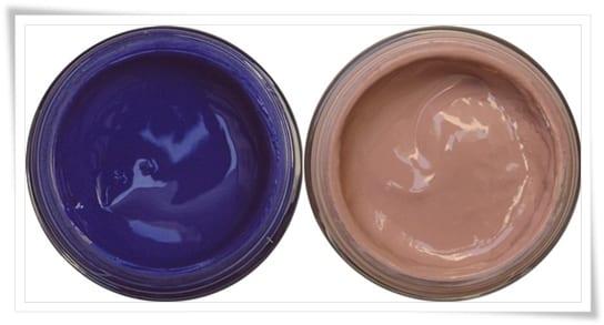Azul thai safiro y rosa ceniza