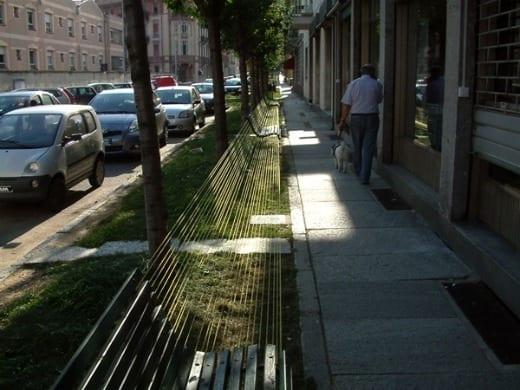 veronika tzekova bancos arte urbano