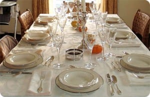 Preparar bien la mesa