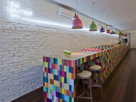 tienda gourmet decoracion minimalista colores