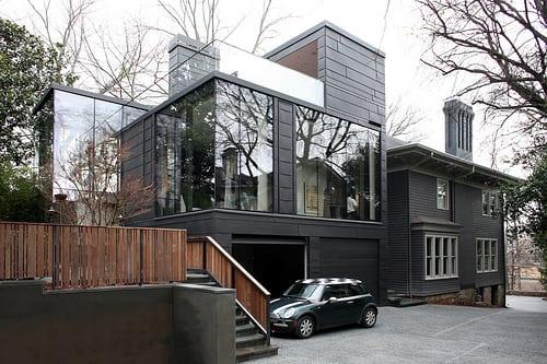 casa moderna arquitectura decoracion ansley park house