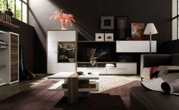 Consejos para iluminar ambiente de colores oscuros - Colores y ambientes ...