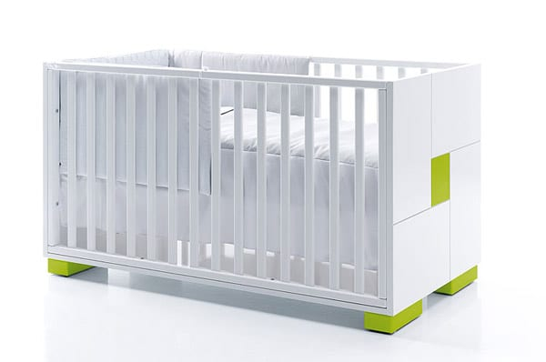 Muebles para la habitación del bebé.