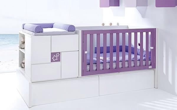 Muebles funcionales para bebés Alondra