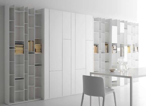 muebles modulares estanteria panel mdf italia