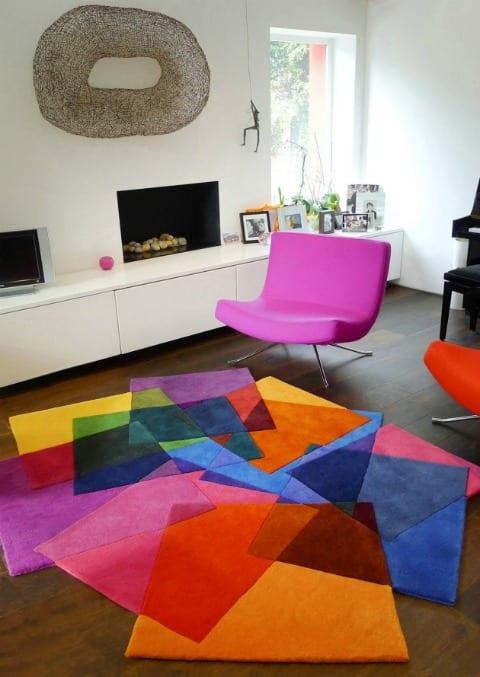 alfombras de colores diseño geomatria sonya winner