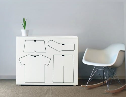 muebles infantiles diseño minimalista