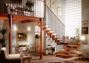 escaleras interior