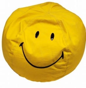 Puf Smiley Happy Deco