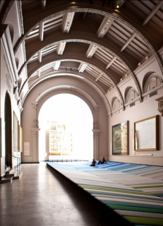 boroullec textil london design festival instalacion