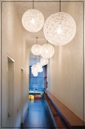 Iluminación en pasillos