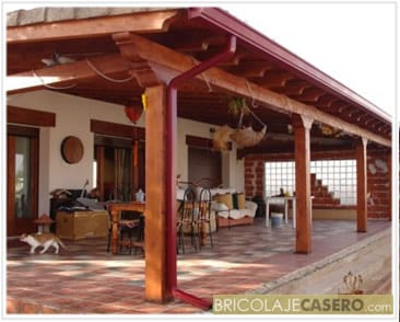 Construir el porche - Porches en madera ...