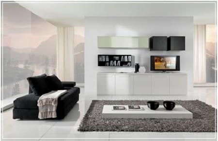Decoraci n minimalista aliada de los espacios peque os for Diseno de interiores minimalista espacios pequenos