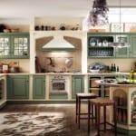 Cocinas Scavolini: cocina con estilo Country