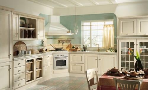 Cocinas scavolini la cocina con estilo country - Cocinas con estilo ...
