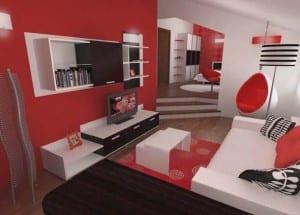 Colores de los muebles: hacer el hogar más acogedor con colores cálidos