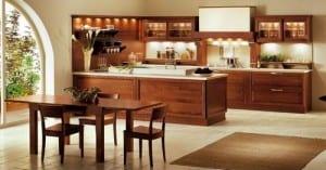 La decoración de la cocina y la ubicación de los electrodomésticos